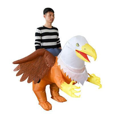 Women Men Eagle Griffin Inflatable Costume Animal Mascot Halloween Cosplay Party • 37.90£
