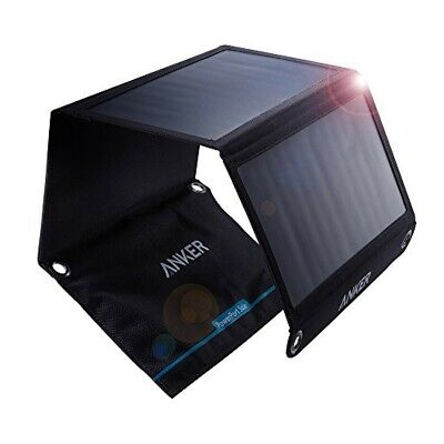 AU168.27 • Buy Anker PowerPort Solar 21W 2-port USB Solar Charger For IPhone Etc NEW