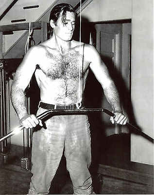 $7.99 • Buy Clint Walker Shirtless Hairy 8x10 Photo T2161