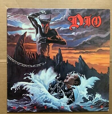 $55 • Buy Dio,   Holy Diver   1983 Vinyl, Allied Pressing W/Sleeve