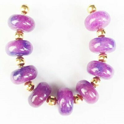 $0.31 • Buy 9Pcs/set 10x5mm Sugilite Rondelle Pendant Bead Q88616