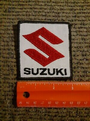 $10 • Buy Vintage Suzuki Motorcycles Sew On Patch NEW