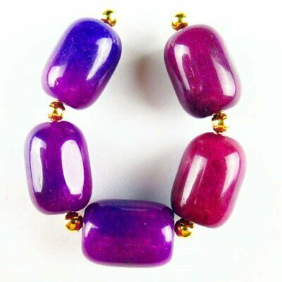 $0.57 • Buy 5Pcs/Set Sugilite Drum Pendant Bead 18x13mm Y36491
