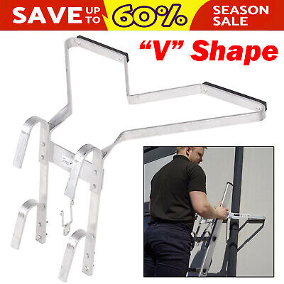 £31.97 • Buy Dayplus 'V' Type Ladder Stand Off/Ladder Stay Ladder Accessory Fit Easy Use UK