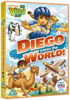 Go Diego Go!: Diego Saves The World DVD (2012) Chris Gifford Cert U Great Value • 2.18£