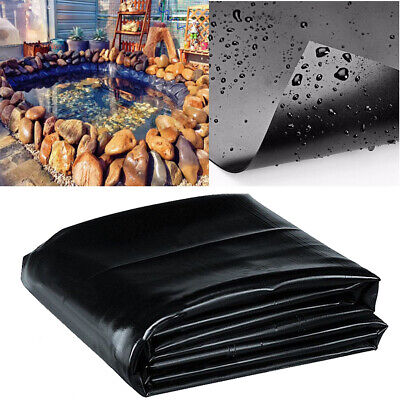 Durable Fish Pond Liner Gardens Pool PVC Membrane Reinforced Landscaping 8-32ft • 31.34£