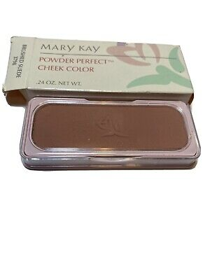 $34.99 • Buy Mary Kay Brushed Suede Cheek Color Powder Perfect Blush 3798 Rare & HTF