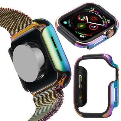 $ CDN15.24 • Buy For Apple Watch Series 5 4 Case Protecter Cover Frame 40mm 44mm Aluminum Metal