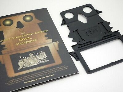 £25.38 • Buy OWL Stereoscope 3d Viewer By Brian May - Improved Version 3 W/slip Case
