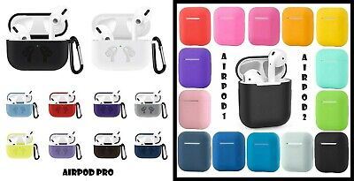 AU5.50 • Buy Apple Airpod Pro 1 2 Air Pod 3 Silicone Ultra Slim Case Cover Shockproof