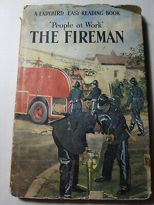 Ladybird Books People At Work The Fireman Series 606 B 606B With Dust Jacket DJ • 2.99£
