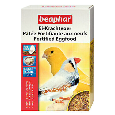 £9.49 • Buy Beaphar 1kg Fortified Dry Eggfood Egg Rearing Food Chick Canary Finch Food