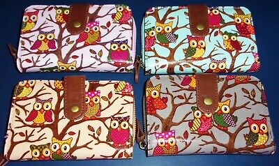 Owl Print Purse/Wallet - Gift Idea • 7.50£