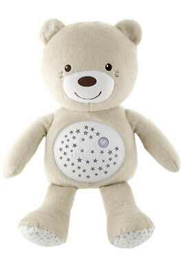 Chicco First Dreams Baby Neutral  Bear, Musical Night Light, Plush Toy • 27.50£