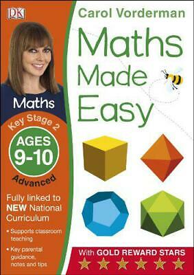 Maths Made Easy Key Stage 2 Advance 9-10 By Vorderman, Carol, NEW Book, FREE & F • 4.33£