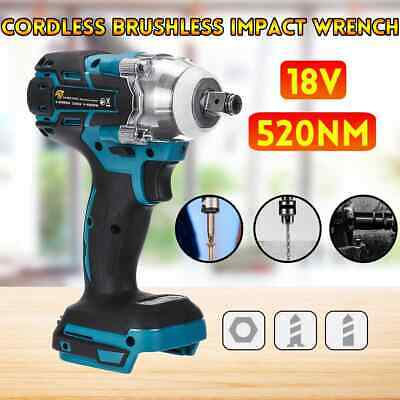 £21.89 • Buy Torque Impact Wrench Brushless Cordless Replacement For DTW285Z Makita Battery