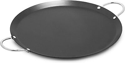 $14.59 • Buy IMUSA CAR-52023 14  Nonstick Carbon Steel Small Round Comal With Metal Handles