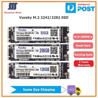 AU75 • Buy Vaseky M.2 2242/2282 128G 256G 240G 500G SSD For Desktop Laptops