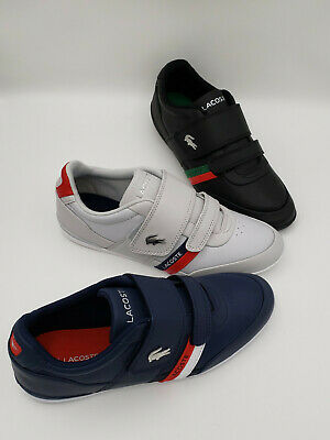 Lacoste Misano Strap 1201U CMA Men's Grey/White- Blk/Grn-NVY/RED Loafer Shoes • 70.77£