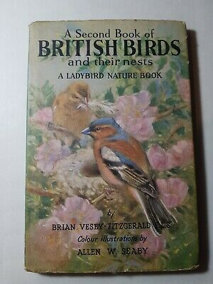 Ladybird Books A Second Book Of British Birds Series 536 With Dust Jacket DJ • 5.99£