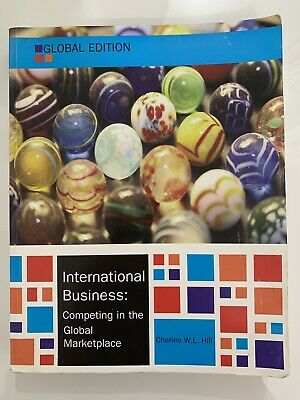 £15 • Buy International Business, Global Edition By Charles W. L. Hill (Paperback, 2014)