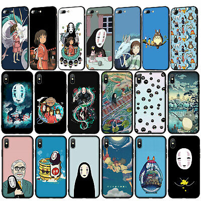 Spirited Away No Face Totoro Case For IPhone 11 Pro XR X XS Max 8 7 6 Plus 5S SE • 2.89£