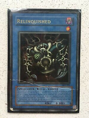 YuGiOh- Relinquished- Used Condition- Comes In Protective Case • 2£