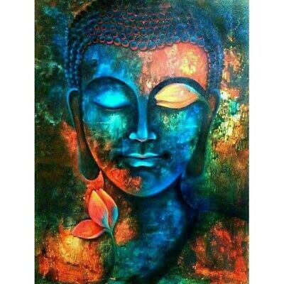 AU14.99 • Buy Buddha Diamond 5D Painting Kits Full Drill Art Embroidery Decor DIY Presents AU