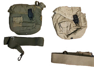 $ CDN15.12 • Buy USGI 2 Quart Water Canteen Bladder With ONE OD Cover + ONE Tan Cover