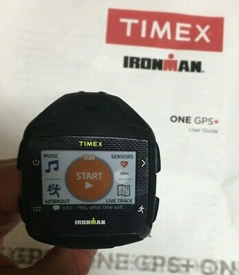 $ CDN267.89 • Buy Timex Ironman One GPS+ Heart Rate Monitor - Black TW5K88800 Water Resistant
