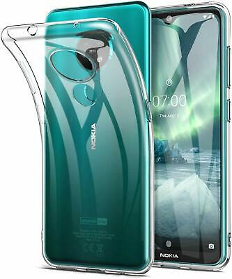 AU5.89 • Buy Clear TPU Gel Phone Case Cover For Nokia 5.3 2.3 1.3 3.2 1 Plus 7.2 6.2 AU Stock