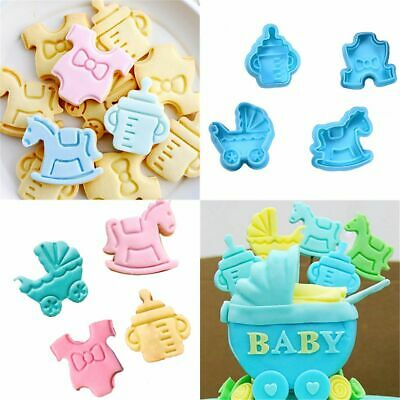 £3.14 • Buy Decor Plunger Baking Tool Fondant Pastry Mould Cookie Cutter Baby Biscuit Mold