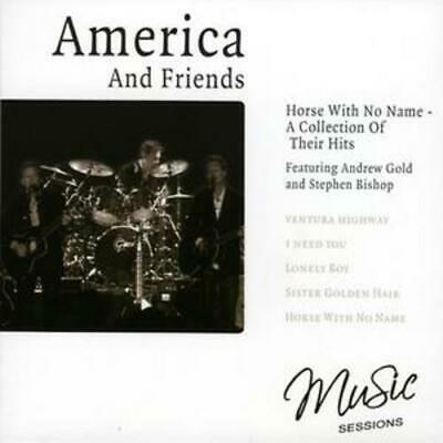 America And Friends : Horse With No Name CD (2007) Expertly Refurbished Product • 12.99£