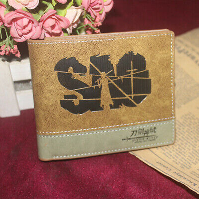 AU14.41 • Buy Sword Art Online SAO PU Leather Wallet Mixed Color Bifold Purse