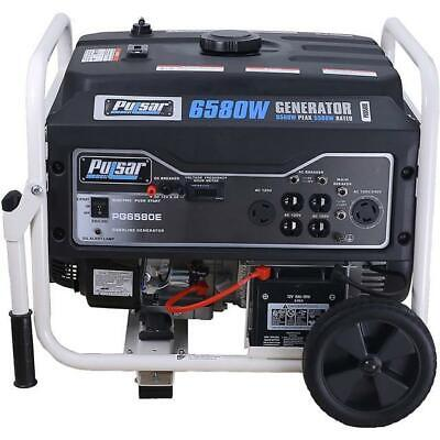 View Details Pulsar 6,580 Watts Gas-Powered Portable Generator Electric Start PG6580E • 549.99$