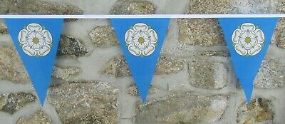 Yorkshire County Flag Polyester Bunting - Various Lengths • 8£