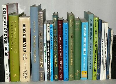 £149 • Buy 21 Cage & Aviary Bird Interest Books , Various Titles/Dates/Publishers (ZZ6Y4)