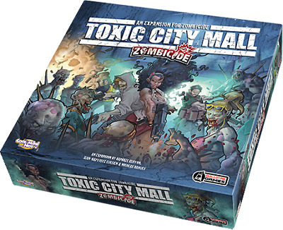 AU89.99 • Buy Board Games--Zombicide - Toxic City Mall Expansion