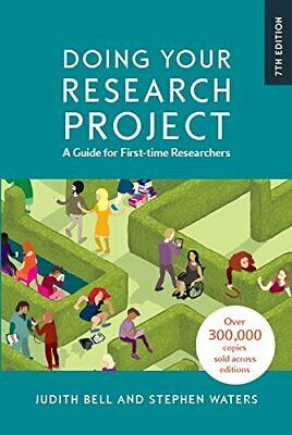 £26.16 • Buy Doing Your Research Project: A Guide For First-time Researchers, Bell, W PB..