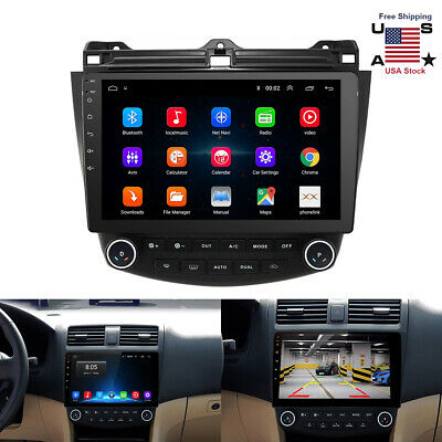 $199.99 • Buy For Honda Accord 2003-2007 10.1inch Android Auto Car Stereo Radio GPS MP5 Player