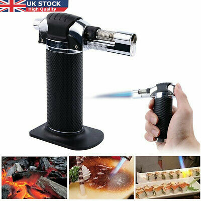 Refillable Butane Gas Micro Blow Torch Lighter Welding Soldering Brazing Tools • 9.39£