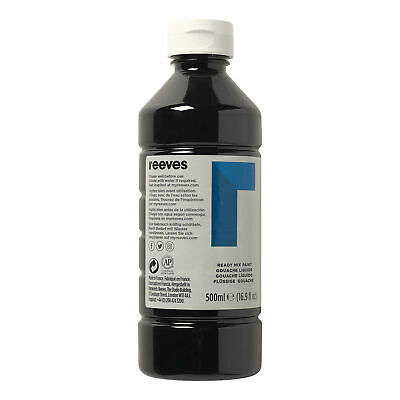 £8 • Buy Reeves Ready Mix Paint - 1l, Black