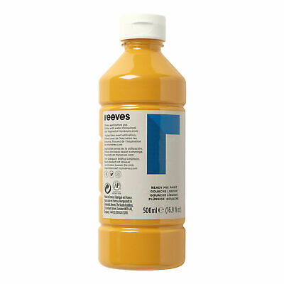 £6 • Buy Reeves Ready Mix Paint - 500ml, Yellow Ochre