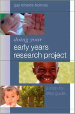 £3.35 • Buy Doing Your Early Years Research Project: A Step-by-step Guide By Guy Great Value
