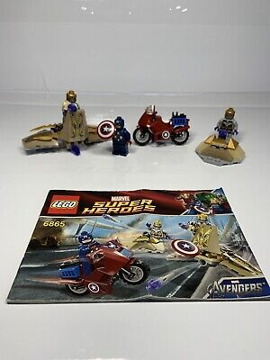 Marvel Super Heroes Captain America's Avenging Cycle 6865 • 17.99£