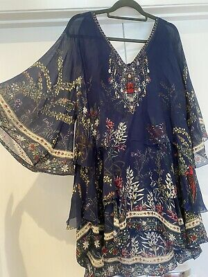 AU308 • Buy Camilla Silk Double Layered Dress Size L
