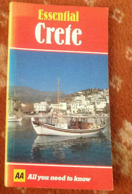The AA Pocket Guide Book ESSENTIAL CRETE Greece  Travel Tours Holidays • 3.99£