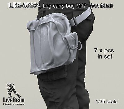 $ CDN15.95 • Buy Live Resin 35264 1/35 M17 US Protective Gasmask Leg Barry Bag