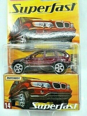 $8.50 • Buy Matchbox 2006 Superfast #14 BMW X5 SUV 1 Of 15,500 New In Package Nice!