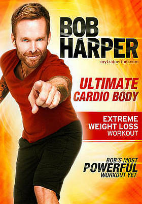 Bob Harper: Ultimate Cardio Body Extreme Weight Loss Workout DVD BRAND NEW • 4£